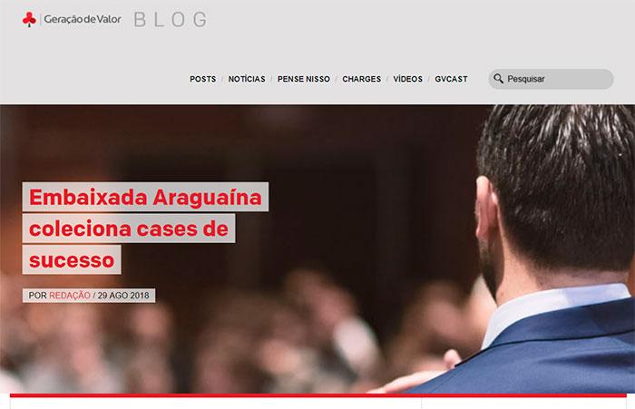 Embaixada GV Araguaína é destaque no Blog Geração de Valor