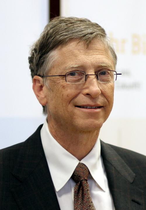 Bill Gates - um dos maiores empreendedores do mundo, fundador da microsoft