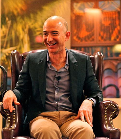 Jeff Bezos - um dos maiores empreendedores do mundo
