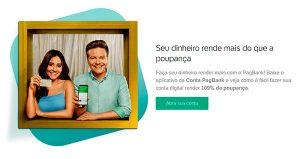 PagBank do PagSeguroUol Rende mais que a poupança