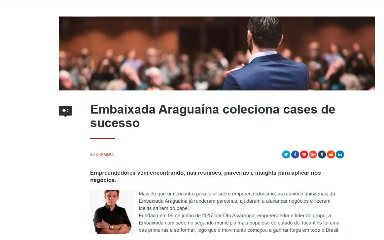 Oto Alvarenga na mídia - Blog do Geração de Valor (Flávio Augusto da Silva)